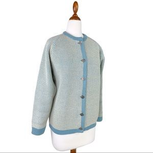 VTG Demeter Standard Knitting Co New Wool Cardigan